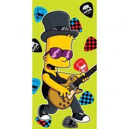 Bart guitar music törölköző, 75 x 150 cm, 75 x 150 cm