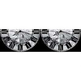 AG Art Római óra öntapadós bordűr tapéta, 500 x 14 cm
