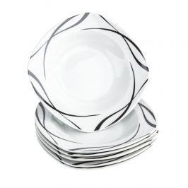 Domestic Oslo 6 részes mély tányér készlet, 21,5 cm