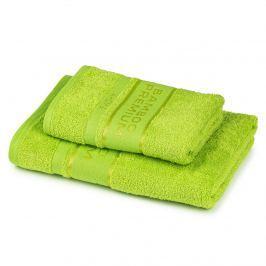 4Home Bamboo Premium törölköző és fürdőlepedő szett zöld