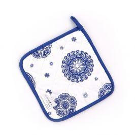 Blue Laces konyhai alátét, 18 x 18 cm
