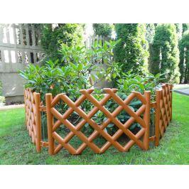Kerti rácsos kerítés – terracotta