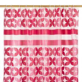 Koopman Pillangó zuhanyfüggöny rózsaszín, 180 x 180 cm