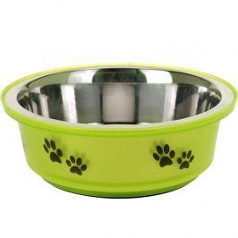Etetőtál kutyáknak zöld, 400 ml