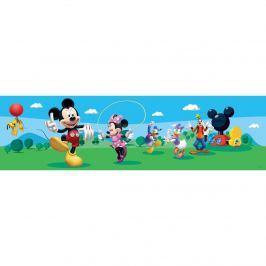 AG Art Mickey Mouse és barátai öntapadós bordűr tapéta, 500 x 14 cm