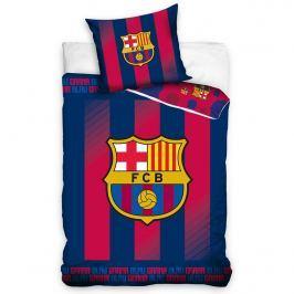 TipTrade FC Barcelona Blaugrana pamut ágyneműhuzat, 140 x 200 cm, 70 x 80 cm