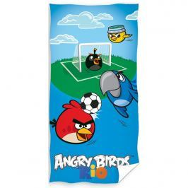 Tip Trade Angry Birds Fotbal törölközőm, 70 x 140 cm