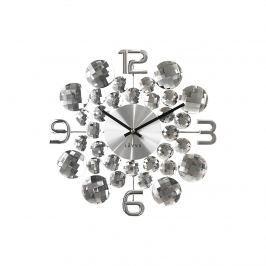 Lavvu Crystal Jewel falióra ezüst átmérő 34 cm
