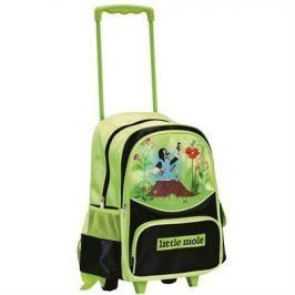 Bino kerekes hátizsák Vakondokkal, zöld