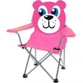Teddy összecsukható gyermek szék, rózsaszín
