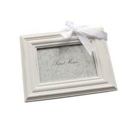 Fali fényképkeret, fehér, 9 x 13 cm