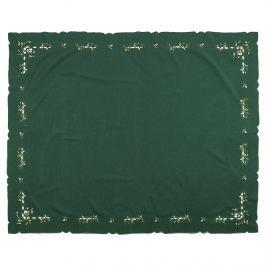Forbyt Karácsonyi fagyöngy terítő zöld, 120 x 140 cm