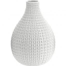 Pompei kerámia váza, szürke, 26 cm