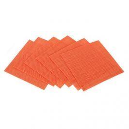 Banquet Culinaria Orange poháralátét, 6 db 10 x 10 cm