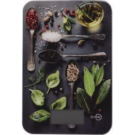 Spices digitális konyhai mérleg, 5 kg, basil