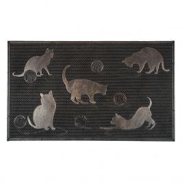 Cicák lábtörlő, 45 x 75 cm,