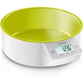 Sencor digitális konyhai mérleg, zöld