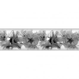 AG Art Orchideák öntapadós bordűr tapéta , 500 x 14 cm
