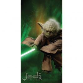 Jerry Fabrics Star Wars Yoda fürdőlepedő 75x150 cm