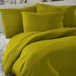 Luxury Collection szatén ágynaműhuzat olivazöld