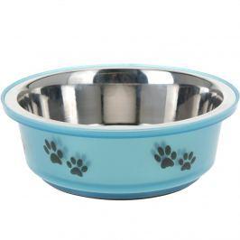 Etetőtál kutyáknak kék, 400 ml
