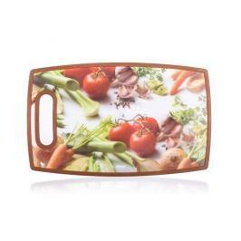 Banquet műanyag vágódeszka VEGETABLES 36 x 22 cm