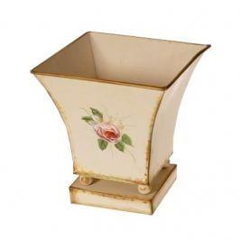 Loira fém virág kaspó, 18 cm