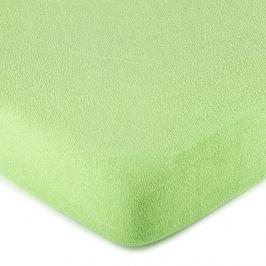 4Home frottír lepedő zöld, 180 x 200 cm
