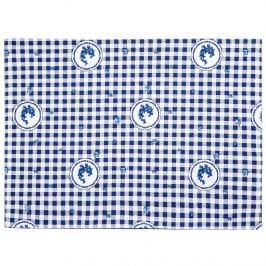 Country tányéralátét kék kockás, 33 x 45 cm