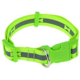 Neon zöld kutyanyakörv, L méret, L