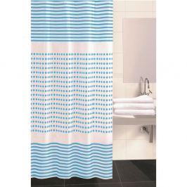 Darja zuhanyfüggöny, kék, 180 x 180 cm