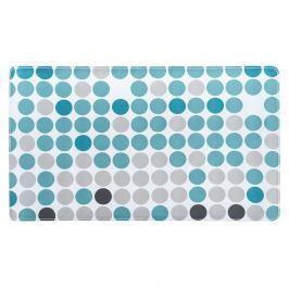 Circle fürdőszoba szőnyeg, kék