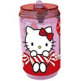Banquet Hello Kitty üveg szívószállal