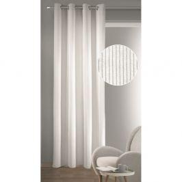 Albani Brit sötétítő függöny karikákkal, fehér, 135 x 245 cm