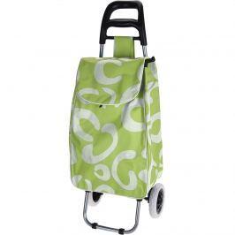 Trolley kerekes bevásárlótáska, zöld
