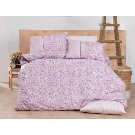 Siria pamut ágynemű, rózsaszín, 140 x 200 cm, 70 x 90 cm