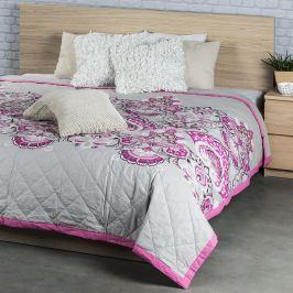 Night in Colours Laissa ágytakaró, rózsaszín, 240 x 220 cm, 240 x 200 cm