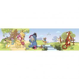 AG Art Micimackó és barátai öntapadós bordűr tapéta, 500 x 14 cm