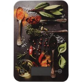 Spices digitális konyhai mérleg, 5 kg, chilli