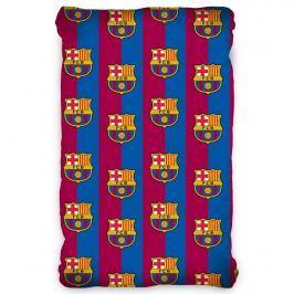 TipTrade FC Barcelona pamut lepedő, 90 x 200 cm