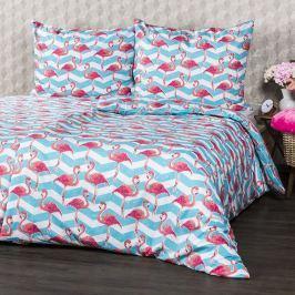 4Home Flamingo pamut ágyneműhuzat, 140 x 200 cm, 70 x 90 cm, 140 x 200 cm, 70 x 90 cm