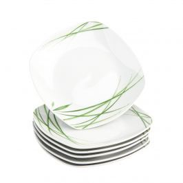 Domestic Delia 6 részes desszert tányér készlet , 19 cm