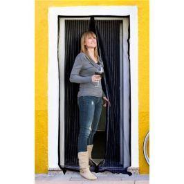 BRILANZ szúnyogháló ajtóra, 100 x 210 cm, fekete