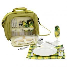 Cattara 4 személyes Piknik táska , zöld