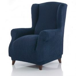 Forbyt Cagliari multielasztikus füles fotelhuzat kék, 70 - 100 cm