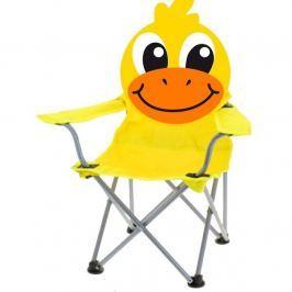 Duckie összecsukható gyermek szék, sárga