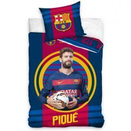 TipTrade FC Barcelona Pique 2016 pamut ágyneműhuzat, 140 x 200 cm, 70 x 90 cm