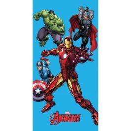 Jerry Fabrics Avengers fürdőlepedő, 75 x 150 cm, 75 x 150 cm