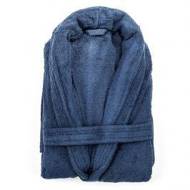 Fürdőköpeny kék, L, L