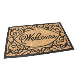Kültéri kókusz lábtörlő Welcome, 45 x 75 cm